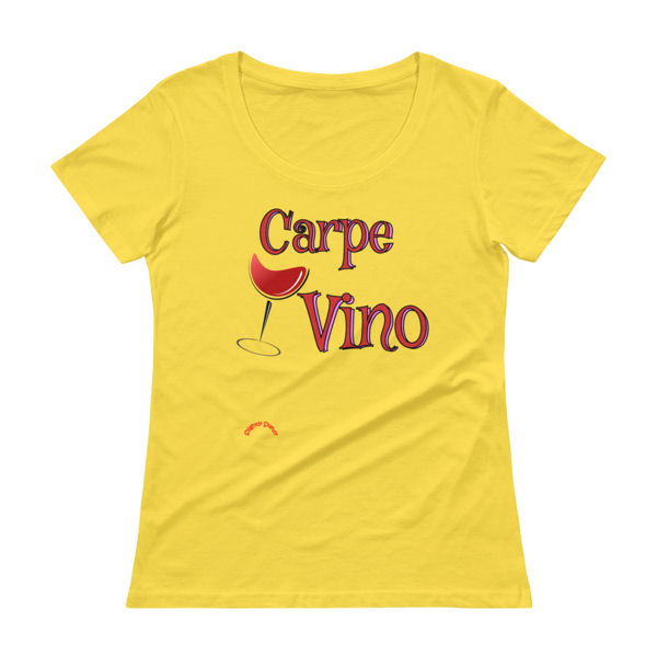 Carpe-Vino-Red_Scoopneck_Lemon-Zest by SlightlySkewy